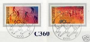 Berlin 1981: Sport Aide Marques Nº 645+646 Avec Propre Ersttags-spécial Tampons!-en Nr. 645+646 Mit Sauberen Ersttags-sonderstempeln!fr-fr Afficher Le Titre D'origine