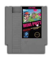 Mini Putt - Nintendo NES Game  Mini Golf - Translation - Sports -