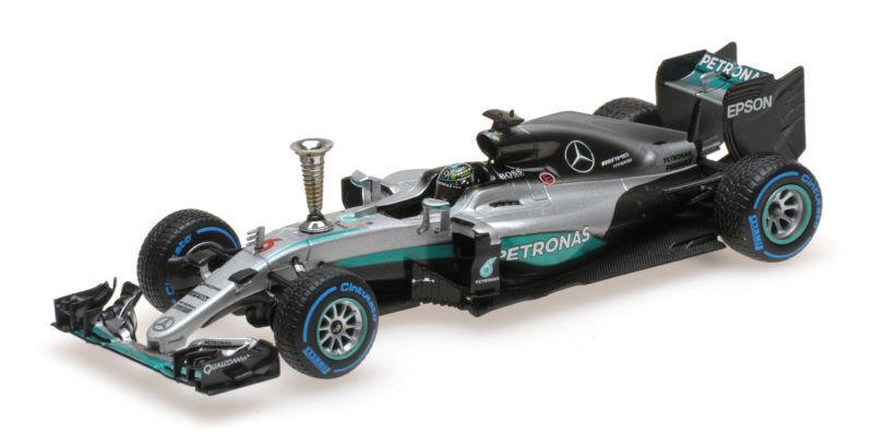 Mercedes Amg W07 Hybrid Nico Rosberg Demontration Run World Champion 2016 1 43