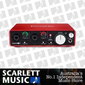 Focusrite-2i2-Generation-2-Digital-Audio-Interface-BRAND-NEW