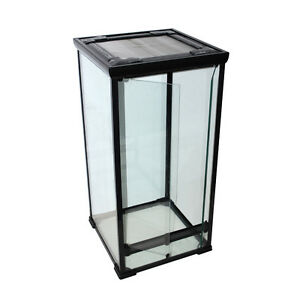 glas terrarium 50x50x100 cm f cham leon schlangen gekkos orchideen ebay. Black Bedroom Furniture Sets. Home Design Ideas