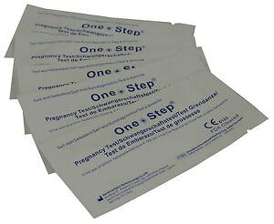 60 Pregnancy Test Ultra Early 10mIU HCG Urine Strip Testing Kits One Step 5055718903421