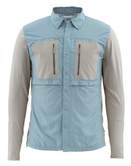 Simms GT TRICOMP Long Sleeve Shirt ~ NEW Cadet Blue  ~ XL ~ CLOSEOUT