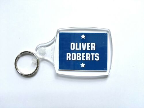 Childrens School Bag Tag Keyring Kids Class. Name Personalised Pupil