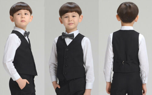 Page Boy Waistcoat,Holy Communion,Wedding Prom Christenings Formal Suits Vests
