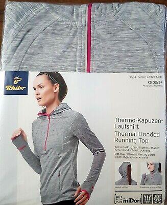 TCM Thermo Kapuzen Laufshirt Thermal Hooded Running Gr.38 *NEU*