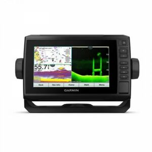 Garmin ECHOMAP 74cv UHD US BlueChart g3 and GT24UHD-TM Transducer 010-02335-01