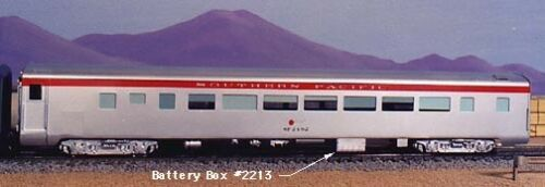 HO Scale Passenger Car Detail Parts Battery Box Cover by Century Foundry 2213