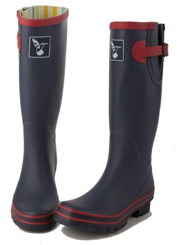 Mesdames Bottes Bottes d/'hiver Bottes de pluie Designer Caoutchouc Wellingtons evercreatures