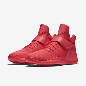 Mens  Womens Unisex Nike Kwazi Action All Red Free Shipping
