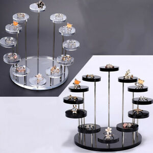 Whole Showed Earrings Jewelry Packaging Display Type Tower Style Earring Holder Rack Window Showcases