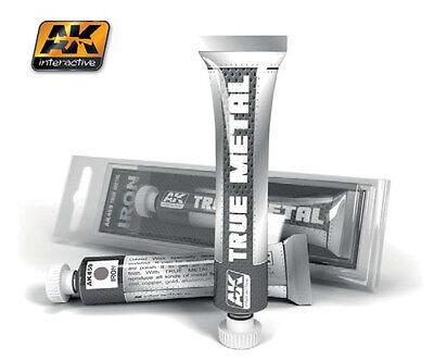 AK Interactive - True Metal Paints - Iron  AK00459