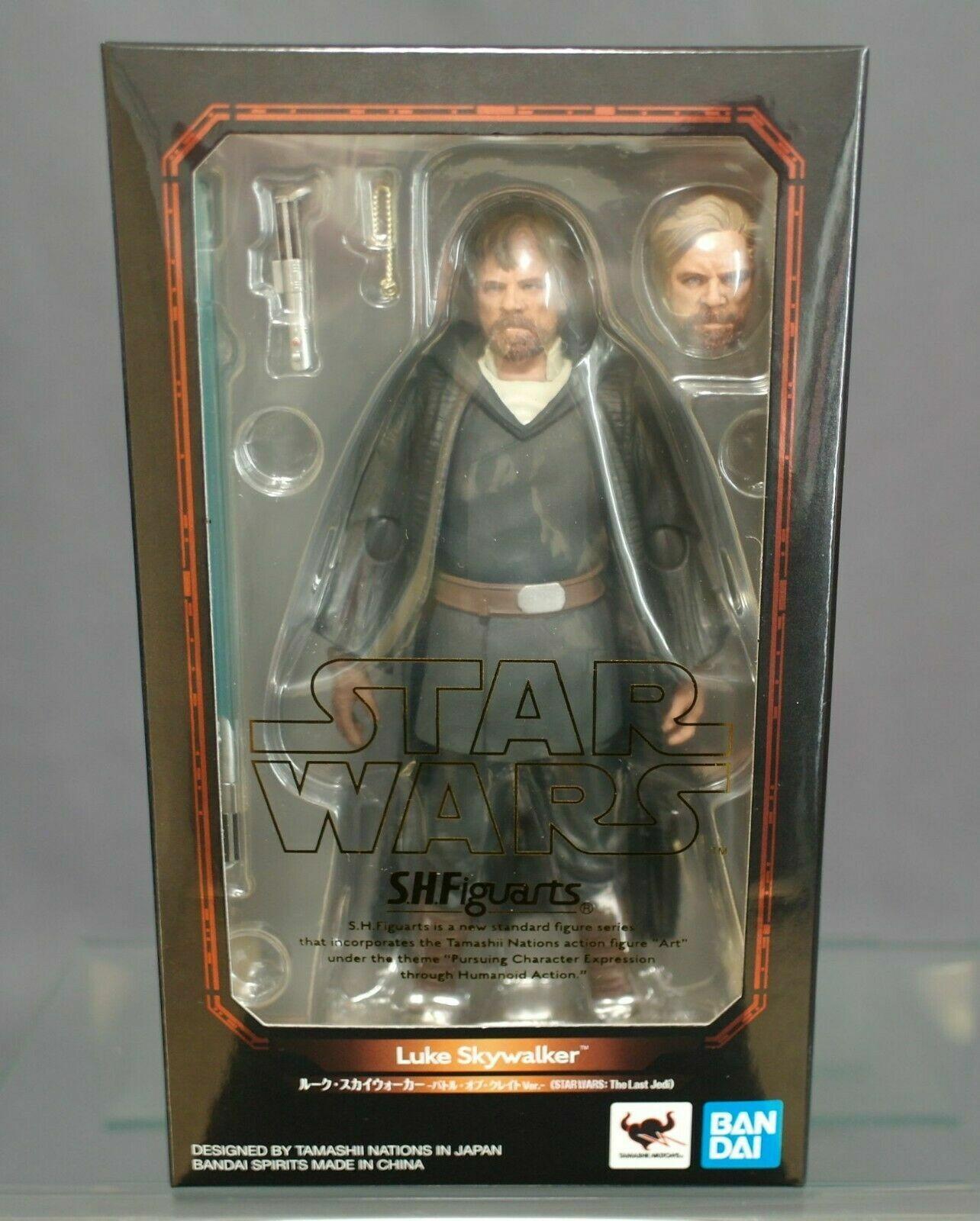 S.H.Figuarts Luke Skywalker kämpfen of Crait Ver. Stern WARS The Last Jedi JP New