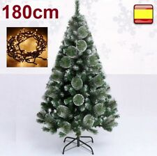 71f1377103d85 Arbol de Navidad 1 80 m 180 cm pino verde nieve luz Led 100 luces ...