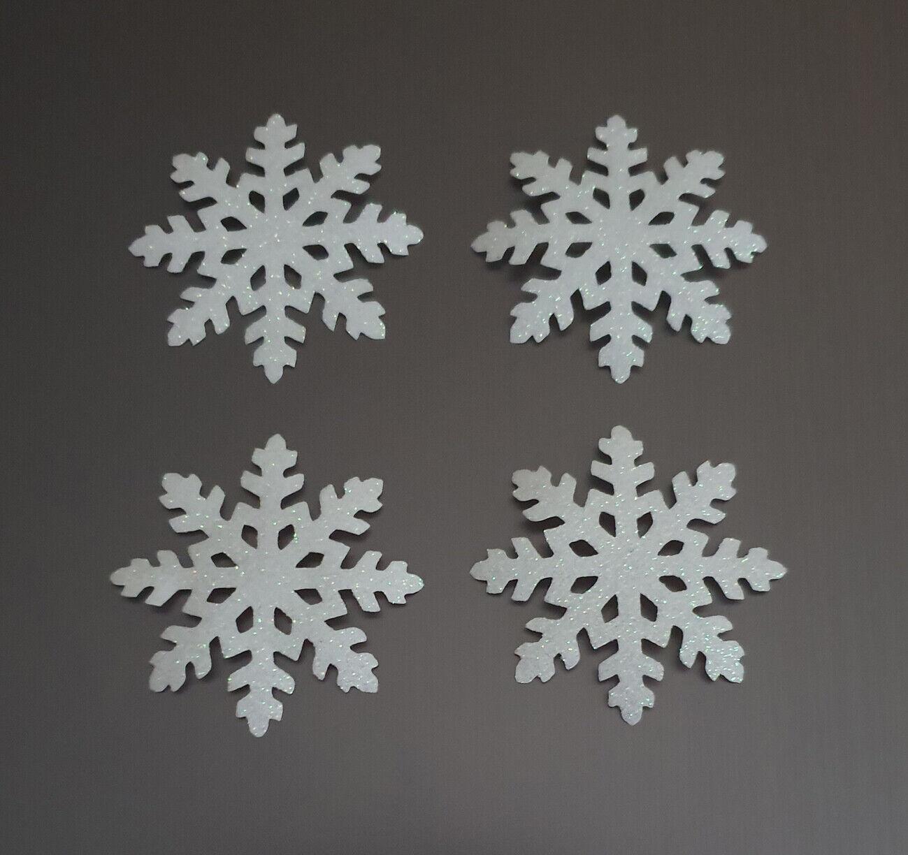 white glitter frozen snowflake fabric iron on tshirt transfer christmas iron on