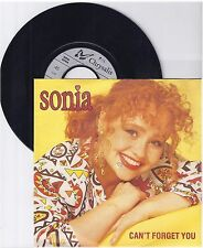 "Sonia, Can't forget you, G/VG  7"" Single 999-452"