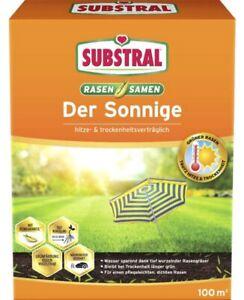 Substral Rasensamen Der Sonnige Saatgut 2,25 kg für ca.100 m²  Grassamen