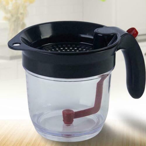 Fat Separator with Strainer Gravy U4S0 Fat Separator With Bottom Release