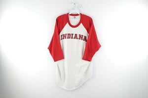 Vintage-90s-Russell-Athletic-Mens-XL-Indiana-University-Hoosiers-Raglan-T-Shirt