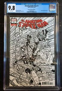 Amazing-Spider-Man-1-1-2000-Remastered-Erik-Larsen-Sketch-Variant-CGC-9-8