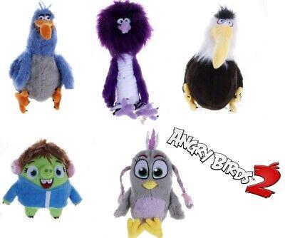 New Official 12 Angry Birds Movie 2 Soft Plush Toys Zeta Eagle