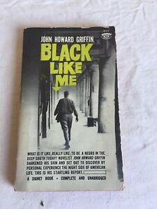Vintage-1963-Black-Like-Me-Paperback-By-John-Howard-Civil-Rights-Movement