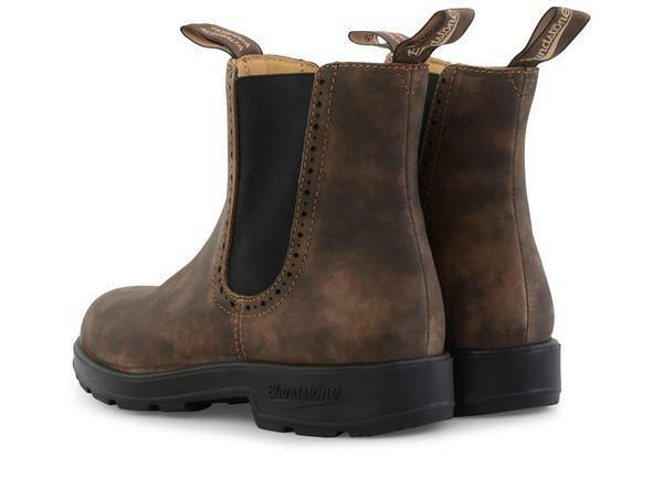 bluendstone 1351 Women's Sizing (Rustic Brn, Slip Resistant Resistant Resistant W  Blk Elastic Side) ed1a26