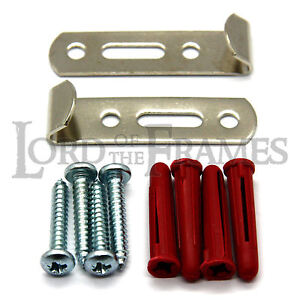 10-x-NICKEL-HEAVY-DUTY-J-HOOKS-Large-Picture-Frame-Hanging-Hooks-Fittings