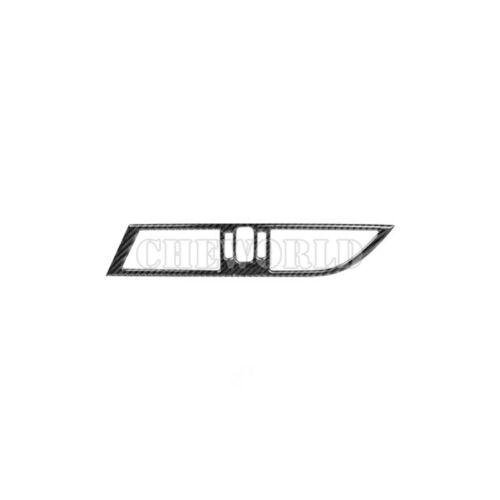 Kohlefaser Mittelkonsole Lüftungsdüsen Lüftungsgitter Blende Für BMW Z4 E89