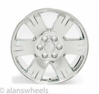 4 Cadillac Escalade Ext Esv Chrome 20 Wheels Rims Lugs Free Ship 5307