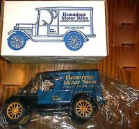 Ertl- 1923 Chevy 1/2 Ton Truck Bank - hemmings Motor News - 7620 - 1:25