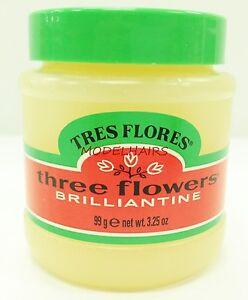Tres flores three flowers brilliantine pomade 99g for Pitture brillantinate