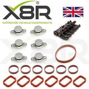 6X-22MM-Para-BMW-Diesel-Kit-De-Reparacion-De-Remolino-Aleta-espacios-en-blanco-en-Blanco-con-juntas