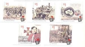 Australie-première Guerre Mondiale Neuf Sans Charnière Set-militaire 2016-d War I Mnh Set - 2016 Militaryfr-fr Afficher Le Titre D'origine