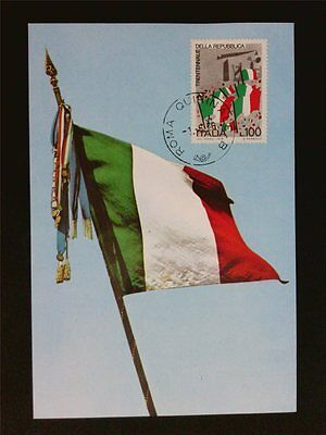 Italien Mk 1976 Republik Fahne Flagge Flag Maximumkarte Maximum Card Mc Cm C7623 Moderate Kosten