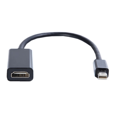 Thunderbolt Mini Display Port To HDMI TV Adapter Cable For Apple MacBook Laptop