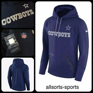 42a4584d08f Nike NFL Dallas Cowboys Therma Hoodie Men's | Sz M Medium, L Large ...