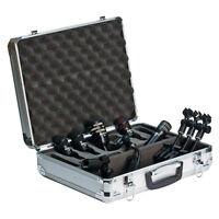 Audix Dp5a 5-piece Drum Microphone Set Studio Mic Kit For Live Sound & Recording