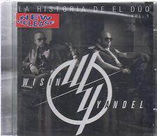 CD - Wisin Y Yandel NEW La Historia De El Duo Vol. 1 - FAST SHIPPING !