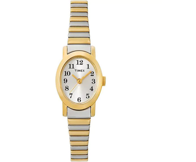 Timex Women's T2M570 Cavatina Two-Tone Stainless Steel Expansion Watch