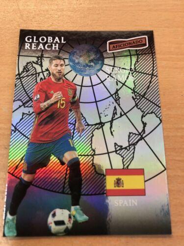 plus appuyez sur la preuve héros 2017 PANINI amateur de football relique cartes Portée mondiale