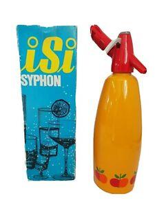 Isi-Austria-Soda-Syphon-70er-Jahre-Neu-Box-Vintage-Trinkwassersprudler