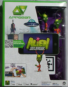 Details about Appgear ALIEN JAILBREAK Mobile Application Game ipad 2 iphone  ipod Android