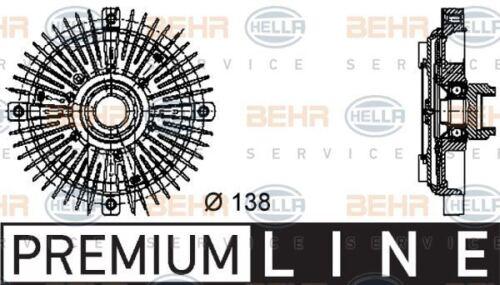 8MV 376 732-231 HELLA Clutch radiator fan