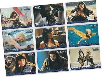 2001 Xena The Warrior Princess Seasons 4 /& 5-72 Card Basic//Base Set