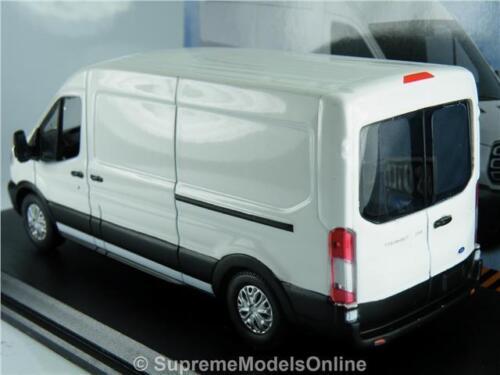 FORD TRANSIT MK8  JUMBO MODEL VAN NEW LATEST DESIGN 1:43 WHITE GREENLIGHT K8
