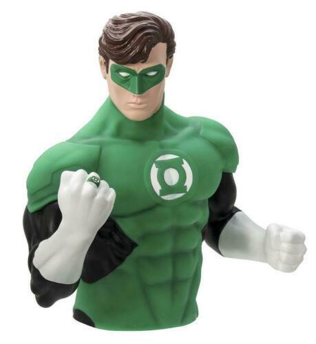 Green Lantern Bust Bank Monogram NEW dc comics