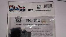 O SCALE KADEE #812   O SCALE COUPLER HEIGHT GAUGE BIGDISCOUNTTRAINS