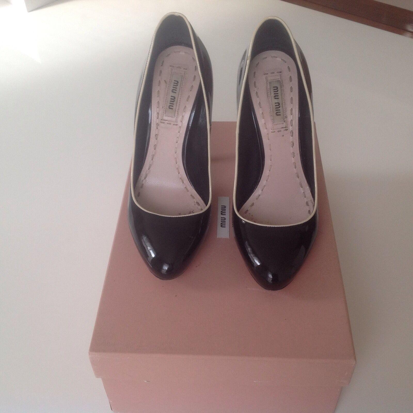 Authentic miu miu high heels nero  nude Dimensione 36 scarpe