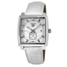 New Tag Heuer Monaco Quartz Mother of Pearl Women's Watch WAW131B.FC6247